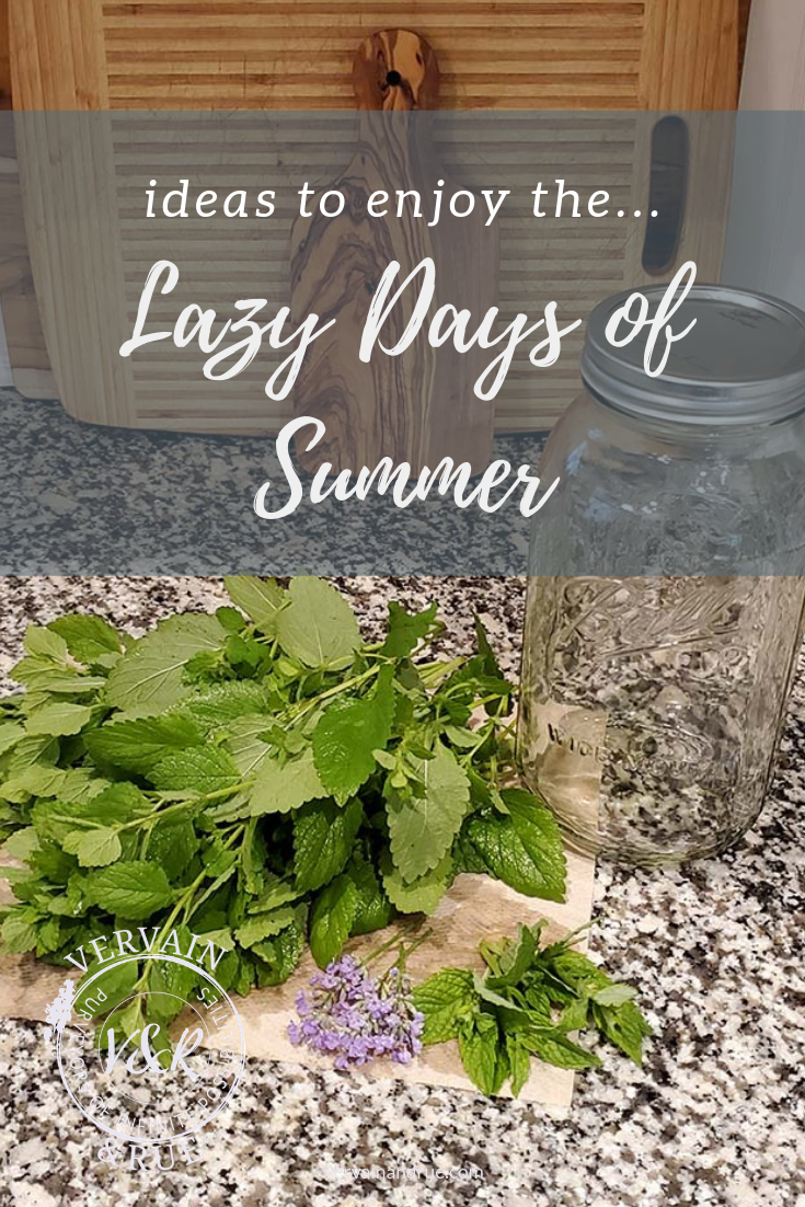 lazy days of summer-2 | vervain & rue